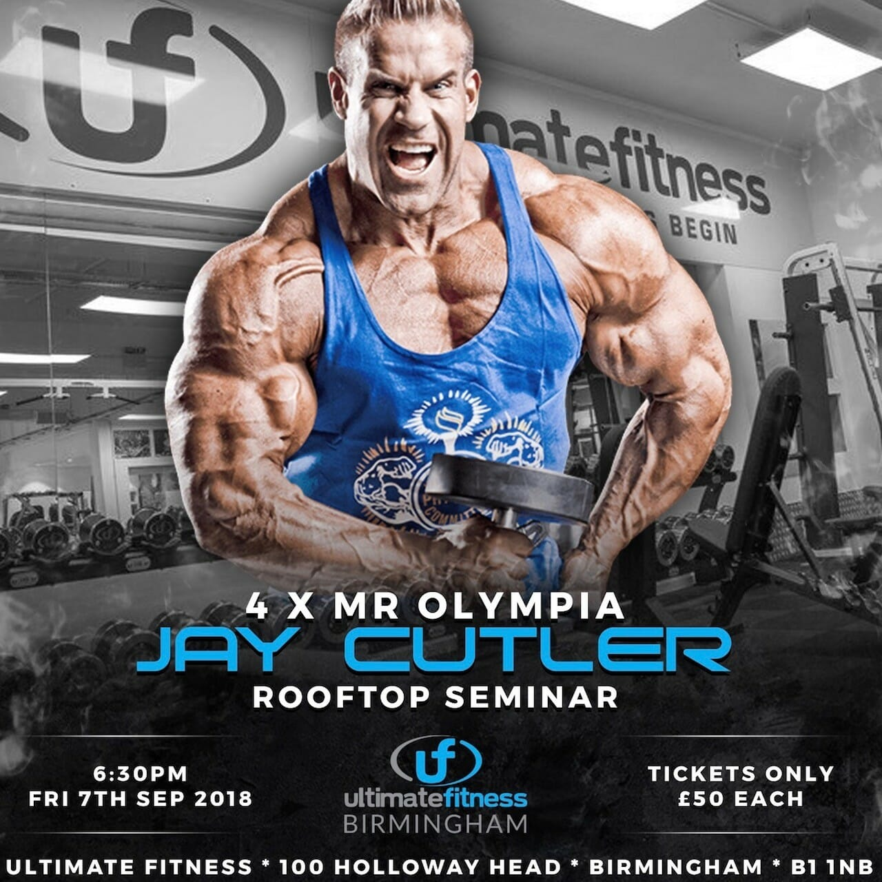 Jay Cutler at Birmingham Ultimate Fitness
