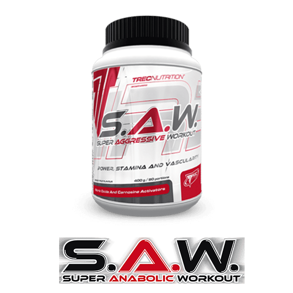 SAW Pre Workout Gym Supplement UFB
