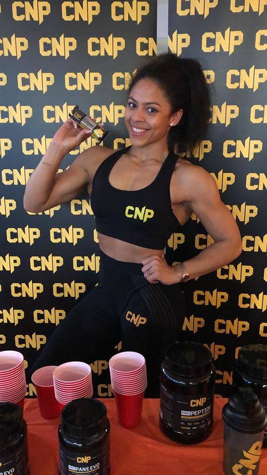 Bethany Lord CNP Event Ultimate Fitness Birmingham