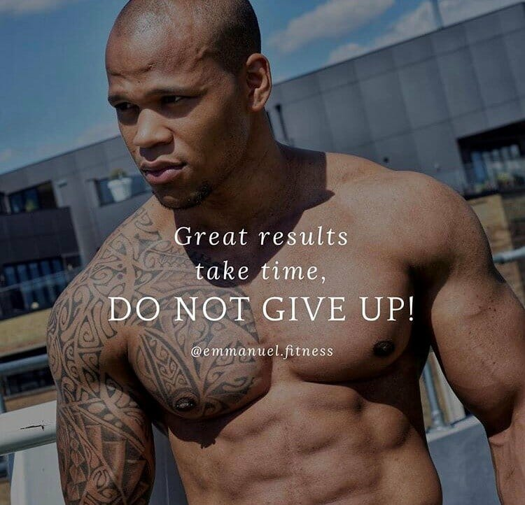 Dont give up results take time