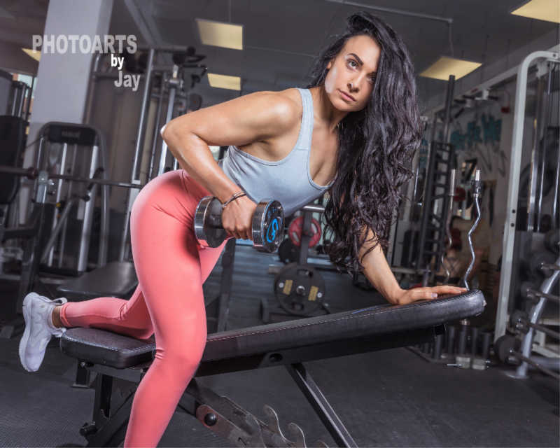 Female Personal Trainer at Ultimate Fitness Birmingham Danika