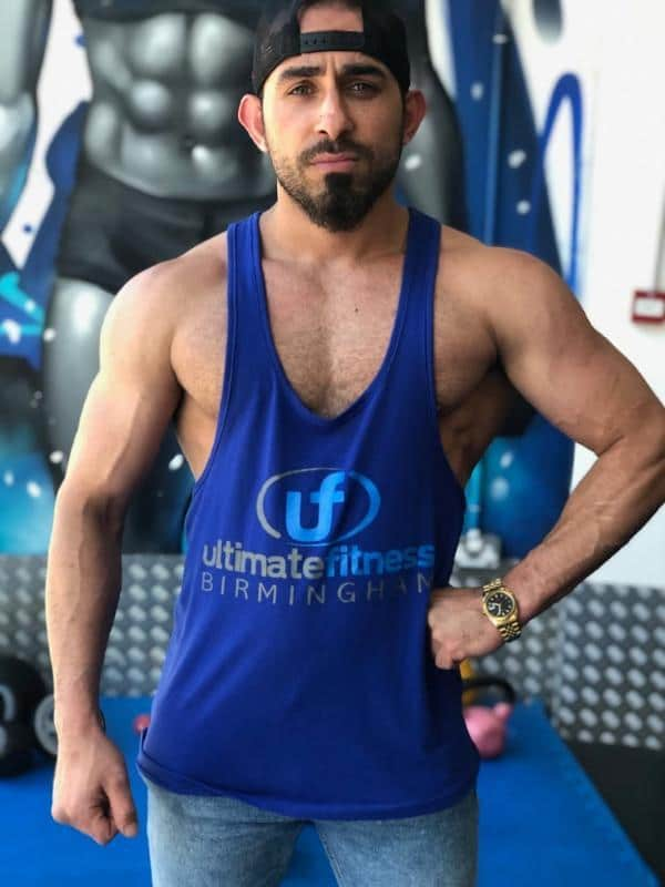 Blue Vests Ultimate Fitness Birmingham
