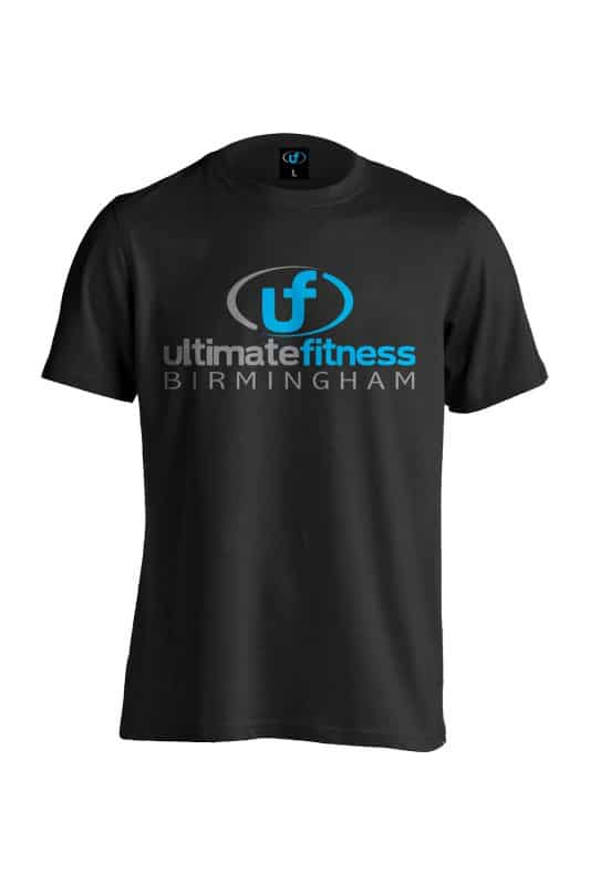 Ultimate Fitness Birmingham Tee Shirt Black