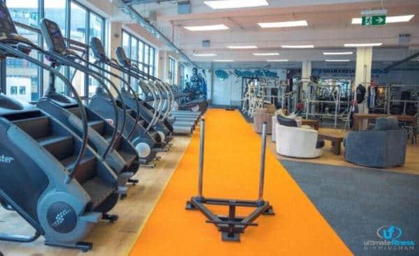 Cardio Equipment gym Birmingham