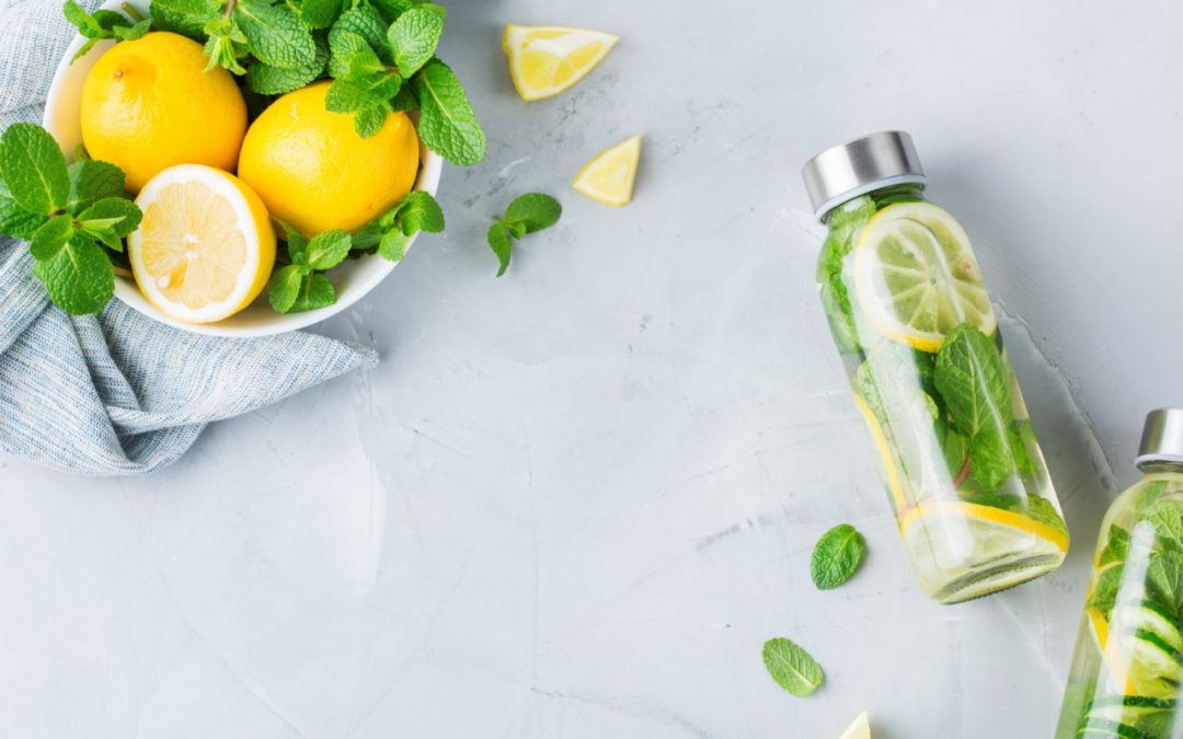 Staying Hydrated with infused water